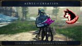 Ashes Of Creation – New Flying Mount & Ebon Steed Ingame Footage September Dev Update Northside
