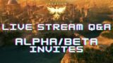 Ashes Of Creation News/Livestream Dev Q&A/How To Get In Alpha+Betas