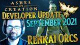 Ashes of Creation Developer Update – September 2021