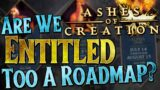 Does Ashes of Creation REALLY need a Roadmap?