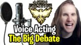 The MMO voice acting debate in Ashes of Creation